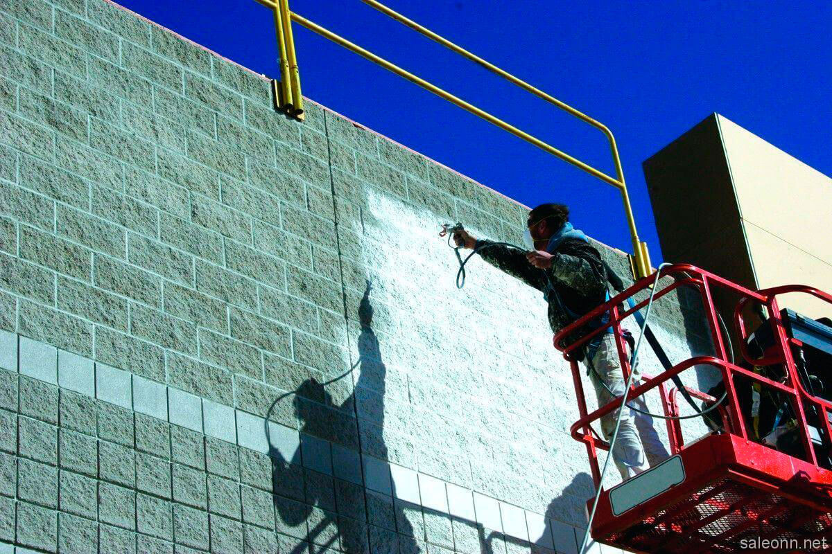 AKTERM Facade™ Liquid Heat Insulation Coating for Protection of Building Facades