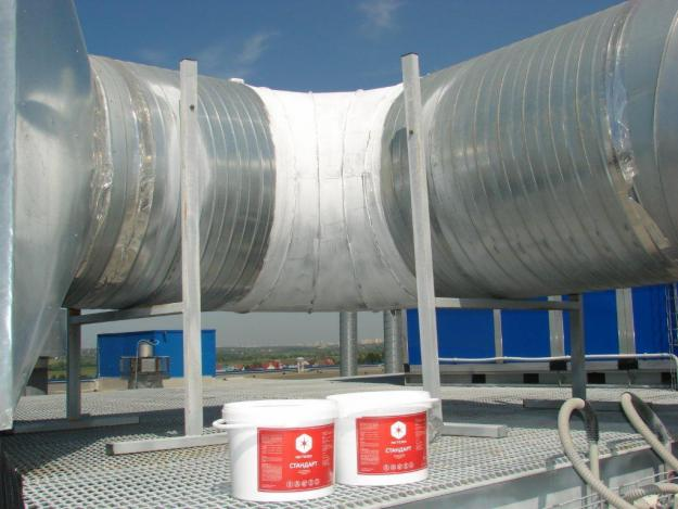 Pipe thermal insulation coatings