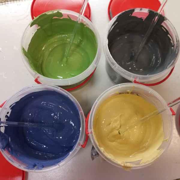 АКТЕРМ КМ0 – негорючая краска