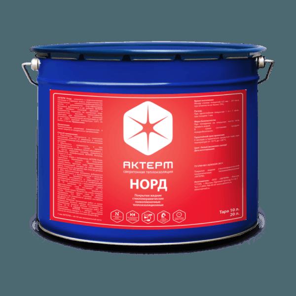 АКТЕРМ Норд ™ — Утепление зимой (10 литров)