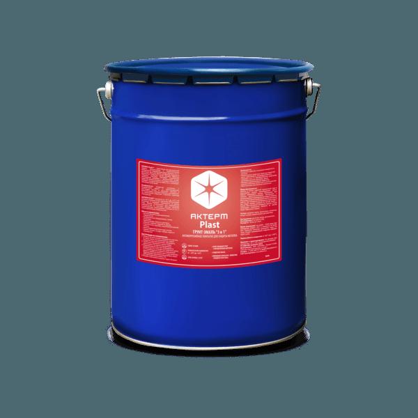 АКТЕРМ Plast ™ — Грунт-эмаль по ржавчине (5 кг)