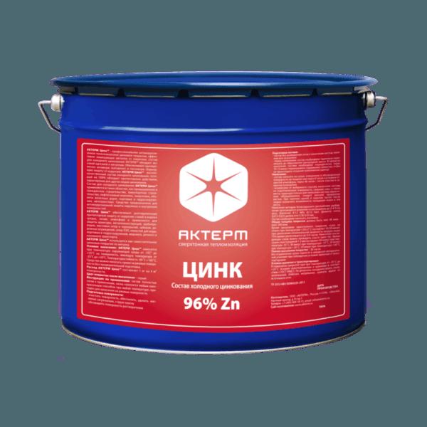 АКТЕРМ Цинк ™ — Антикоррозионное покрытие (6 кг)