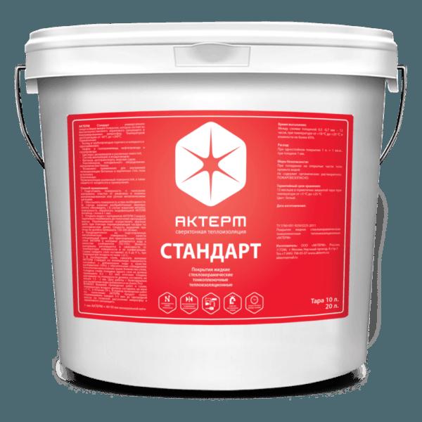 АКТЕРМ Стандарт ™ — Термо-гидроизоляция (20 литров)