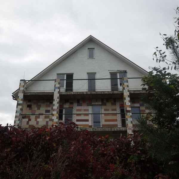 Теплоизоляция стены дома жилого дома краской АКТЕРМ Фасад