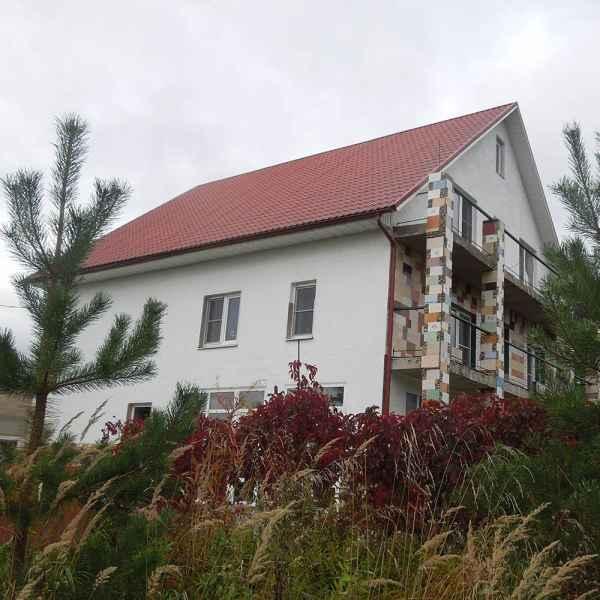 Теплоизоляция фасада жилого дома краской АКТЕРМ Фасад