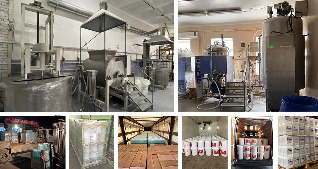 Полный цикл от производства до доставки покрытий